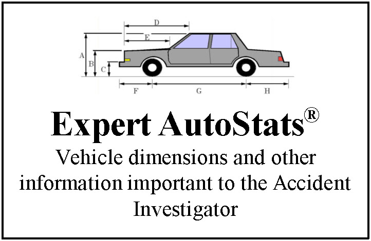 Expert AutoStats | 4N6XPRT Systems | Vehicle Dimension Database ...