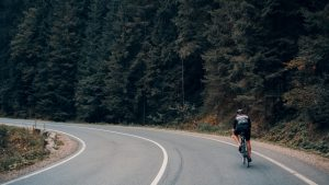 Can bikes ride on the road?